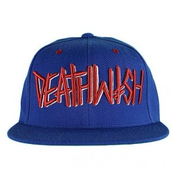 Boné Deathwish Deathspray Royal Red