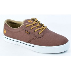 Ténis Etnies Jameson 2 Eco - Brown/Tan/White Canvas