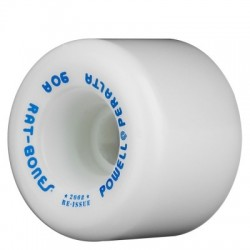 Rodas Powell Peralta Rat Bones White - 60mm 90a