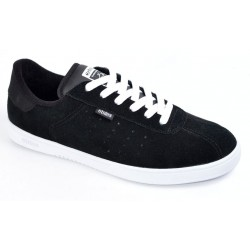 Ténis Etnies The Scam - Black/White Suede