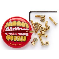 Parafusos e Porta Moedas Almost Gold Nuts & Bolts in Your Mouth - Allen - 1""""
