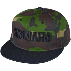 Sk8Mafia OG Camo Snapback Hat