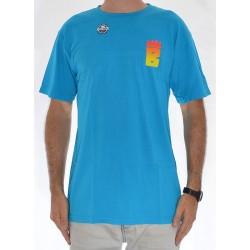T-Shirt Brigada Logo - Blue