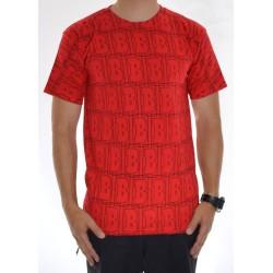 T-Shirt Baker Multi - Red