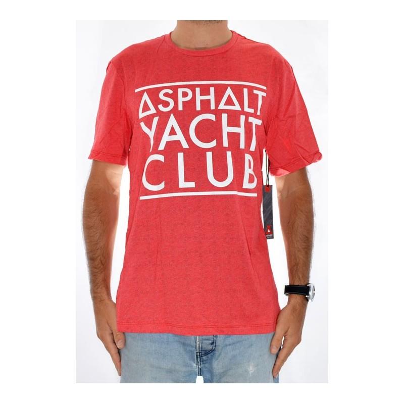 T-Shirt ASPHALT Basic - Red