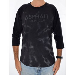 T-Shirt ASPHALT Heardsman Raglan - Black