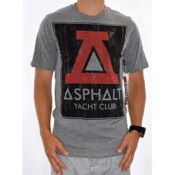 T-Shirt ASPHALT Texture A Lock Up - Grey