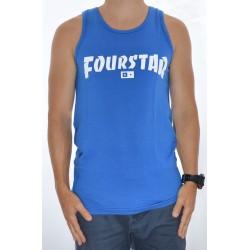 T-Shirt de Alças Fourstar Highspeed - Royal