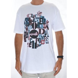 T-Shirt Cliché French Cocks - White