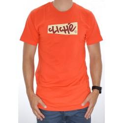 T-Shirt Cliché Handwritten Paper - Orange