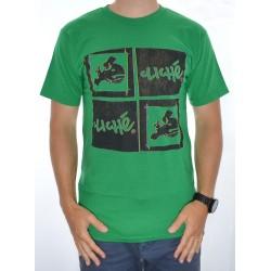 T-Shirt Cliché Cutted Box- Kelly Green