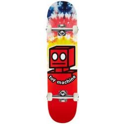 "Skate Completo Toy Machine Robot Tie Dye - 7.875"""""