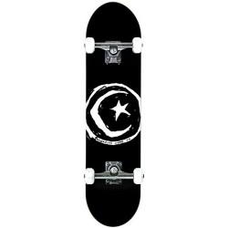 "Skate Completo Foundation Star & Moon Black - 8.0"""""