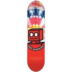 "Tábua Toy Machine Robot Tie Dye - 7.875"""""