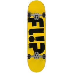 "Skate Completo Flip - Odyssey Stencil Yellow - 7.75"""""