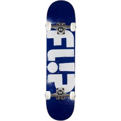 """Skate Completo Flip - Odyssey Stencil Blue - 7.50"""""""""""