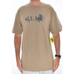 T-Shirt Cliché Handwritten - Camo