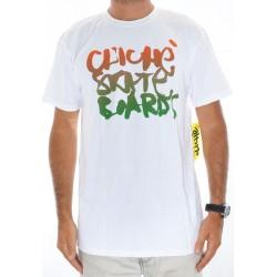 T-Shirt Cliché Scribble - White