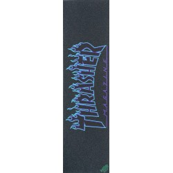 Lixa Mob Grip Thrasher Mag Flame Logo Blue
