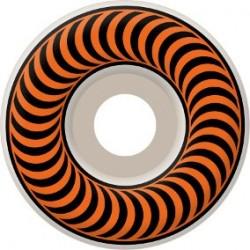 Rodas Spitfire Classic White/Orange - 53mm