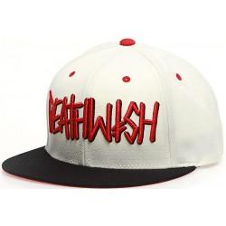 Deathwish Deathspray Bone Red  Hat