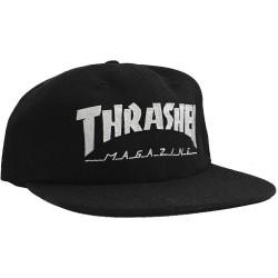 Boné Thrasher Logo Stitched Felt - Black