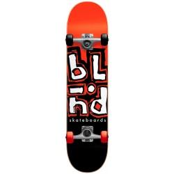 "Skate Completo Blind Jumbled Split Red/Black - 7.625"""""