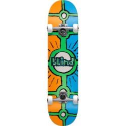 "Skate Completo Blind Holy Grail Orange/Cyan - 8.0"""""