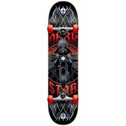 """Skate Completo Darkstar Roadie Red - 8.0"""""""""""
