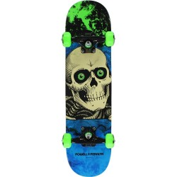 Skate Completo Powell Peralta Ripper Storm Green Blue - 7.0""""