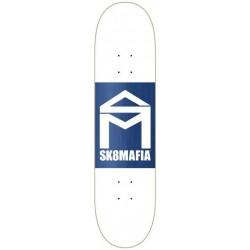 """Tábua Sk8mafia House Logo White Double Dip - 8.0"""""""""""