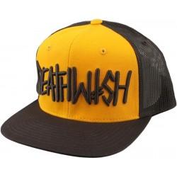 Deathwish Deathspray Brown Yellow Trucker