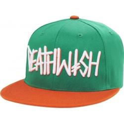 Deathwish Deathspray Green Orange Hat