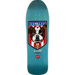 "Tábua Powell Peralta Frankie Hill Bull Dog Blue - 10"""" x 31.5"""""