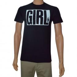 T-Shirt Girl Big - Preto