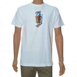 T-Shirt Girl Plate D - White