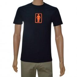 T-Shirt Girl OG - Preto