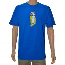 T-Shirt Girl Plate D - Royal Blue
