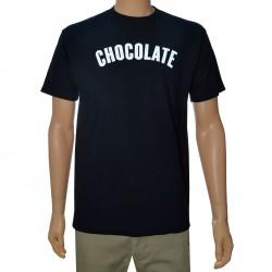 T-Shirt Chocolate Regular - Black
