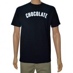 T-Shirt Chocolate Regular - Preto