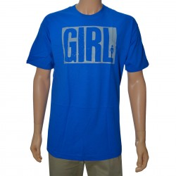 Camiseta Girl Big - Azul