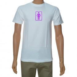 T-Shirt Girl OG - White/Purple