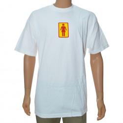T-Shirt Girl OG - White/Red/Yellow