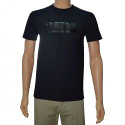 Camiseta Girl Advertype - Negro