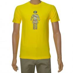 T-Shirt Girl Mo Money - Yellow