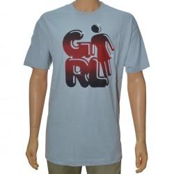 T-Shirt Girl Fat Cap - Light Grey