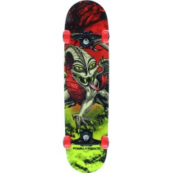 Skate Completo Powell Peralta Cab Dragon Storm Red Lime - 7.75""""