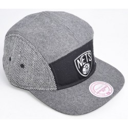 Boné Mitchell&Ness 5 panel - Nets