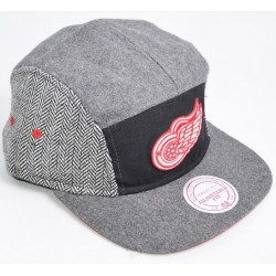 Boné Mitchell&Ness 5 panel - Redwings