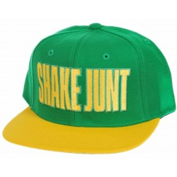 Boné Shake Junt Mainline - Green/Yellow